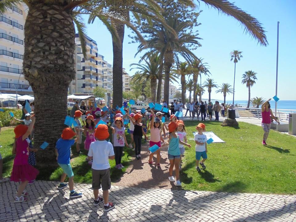 Crianças do Agrupamento de Escolas Silves Sul juntaram-se à cerimónia